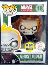 Funko Pop! #18 Ghost Rider Glow in the Dark Harrison Comics Exclusive - RETIRED