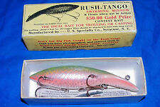 Vintage Rush Tango Swimming Minnow BASS 2000 Collectors Fishing Fish Bait Lure