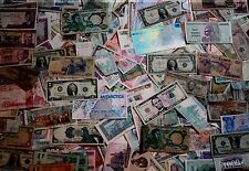 50 Old Foreign Currency BankNotes + Silver Certificates BIGGEST ESTATE ON EBAY