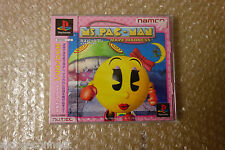 BRAND NEW Ms Pac Man Sony PS1 Playstation Japan Neuf!