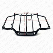 Gloss Black Tour Pak Pack Luggage Rack For Harley Davidson Touring 1993-2013