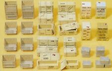 Preiser HO, OO gauge Pallets, Crates & stacks of Boxes (17110)