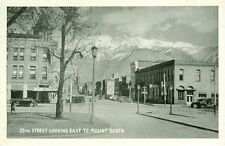 Ogden,UT. The Healy Hotel and Indian Curio shop on 25th Street