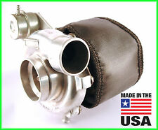 ATP HKS Garrett GT3076 GT30R GT3037 Turbo Blanket Heat Shield BLACK USA MADE
