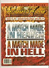 wwf 1991 Summerslam Offical Program PPV WWE