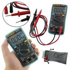 Digital LCD Multimeter 6000Counts Backlight AC/DC Ohm Ammeter Temperature Tester
