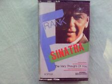 Frank Sinatra The Very Thought Of You Cassette Tape New Sealed swing jazz