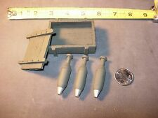 1/6 scale resin cast-WW2 US 81mm Mortar ammo box for Ultimate Soldier or Dragon