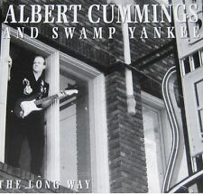 ALBERT CUMMINGS AND SWAMP YANKEES THE LONG WAY INDIE BLUES DIGIPACK 1999
