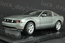 Minichamps Diecast Ford Mustang GT 2010 Sterling Grey Metallic 1/18