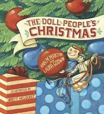 The Doll People's Christmas by Laura Godwin and Ann M. Martin (2016, Hardcover)