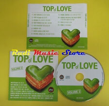 CD TOP OF LOVE VOLUME 2 compilation PAPS N SKAR MATT BIANCO (*) no lp mc (C14)