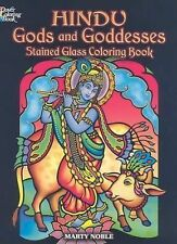 Hindu Gods and Goddesses Stained Glass Coloring Book (Dover Stained Glass Colori