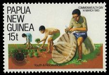 """PAPUA NEW GUINEA 581 (SG465) - Commonwealth Day """"Recreation"""" (pa32855)"""