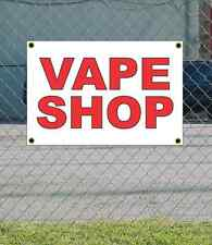 2x3 VAPE SHOP Red & White Banner Sign NEW Discount Size & Price FREE SHIP