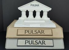 (3) Vintage Pulsar Watch Jewelry Store Counter Display Advertisement Showcases