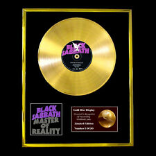 BLACK SABBATH MASTER OF REALITY CD GOLD DISC FREE P&P!