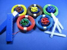 Modellbahn-Stecker/Muffen- u.Kabel-VerlegeSet #C