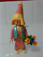 PLAYMOBIL REF ESPECIAL 4570 FIGURA DONCELLA FLORES FLOWERS MAIDEN DAMA MADRINA