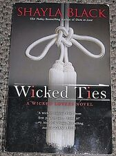 Lovers Wicked Ties Shayla Black 2013 Paperback Erotica Dominant Submission Book