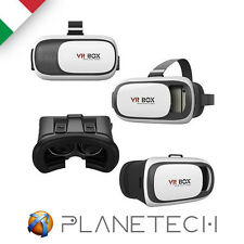 VR BOX 2.0 3D OCCHIALI REALTA' VIRTUALE VIRTUAL REALITY IOS ANDROID GIOCHI FILM