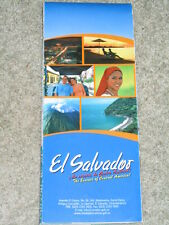 El Salvador; map and guide to the country and city of San Salvador