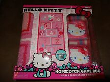 Hello KItty Hopscotch Game Rug With Bean Bags-New In Package