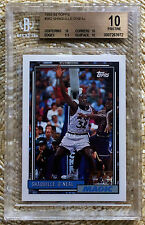 92-93 TOPPS SHAQUILLE O'NEAL RC BGS 10 LOW POP CARDREGISTRY hof