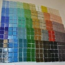 400 Craft Mosaic Tiles 2x2cm 40 Colours x 10 Set Mosaic Crafts Amazing Value