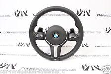 BMW F20 F30 F31 F34 F25 F15 F16 M sport steering wheel PADDLES AIRBAG