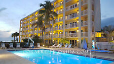 St Pete Beach FL Vacation Condo October 8-15  Beachfront Resort Sleeps 4