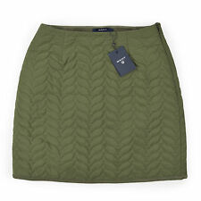 GANT Damen Rock S 36 Minirock Military Green Woman Skirt Stepprock NEU