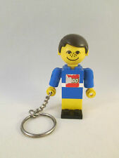 Lego Keychain / Keyring - Homemaker Maxifig Man Male - Key Chain / Ring