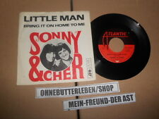 "7"" Pop Sonny & Cher - Little Man / Bring It On Home To Me ATLANTIC"