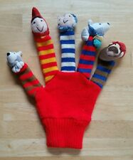 DAKIN APPLAUSE Story Time Little Red Riding Hood Glove Finger Hand Mitt Puppet