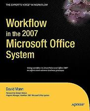 2-DAY SHIPPING | Workflow in the 2007 Microsoft Office System, PAPERBACK, 2007
