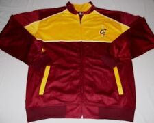Cleveland Cavaliers Full Zip Track Jacket XL Tall Front Back Logos Majestic NBA