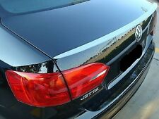 PRE-PAINTED VW JETTA 2011-2016 NO DRILL 3M TAPE INSTALLATION LIP SPOILER  NEW