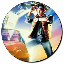 Parche imprimido, Iron on patch /Textil Sticker/ - Back to the Future, B