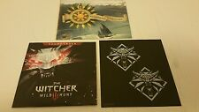 The Witcher III 3 Wild Hunt Soundtrack Cd, World Map Poster & Sticker Sheet