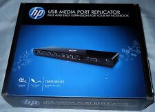 New HP USB Media Port Replicator Docking Station w/ Audio Out VY843AA#ABA