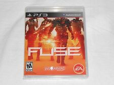 NEW Fuse Playstation 3 Game PS3 SEALED US VERSION fuze fuss fuzz EA shooter