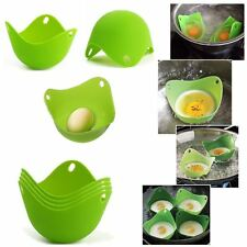 1Pc Silicone Egg Poacher Cook Poach Pods Kitchen Cookware Poached Baking Cup