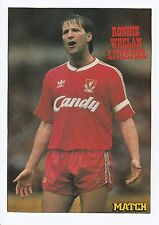 RONNIE WHELAN LIVERPOOL 1980-1994 ORIGINAL HAND SIGNED MAGAZINE PICTURE CUTTING