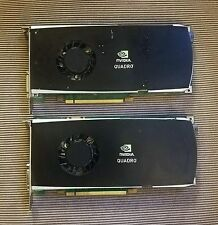 2x (Dell X9YDW nVidia Quadro FX3800 1GB PCI-e Video Cards)