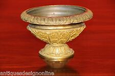Big antique French Empire gilt bronze URN vase cassolette 1820 Napoleonic ormolu