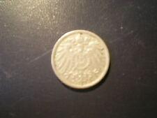 Imperio alemán 1901, 10 peniques-d-, buena conservación