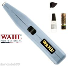 Pet Grooming DOG CAT WAHL CORDLESS MINI TRIMMER Clipper SET for Detail Touch Up