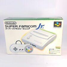 Snes Super Nintendo Famicom JR Console Boxed With Megadrive Adaptor JAP NTSC