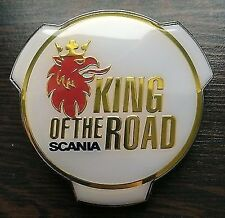 New Scania King of the Road Truck / Lorry Abzeichen Emblem 1401610